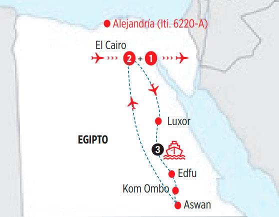 Resultado de imagen de itinerario crucero nilo Itinerario: Asuán - Kom Ombo – Philae – Luxor.